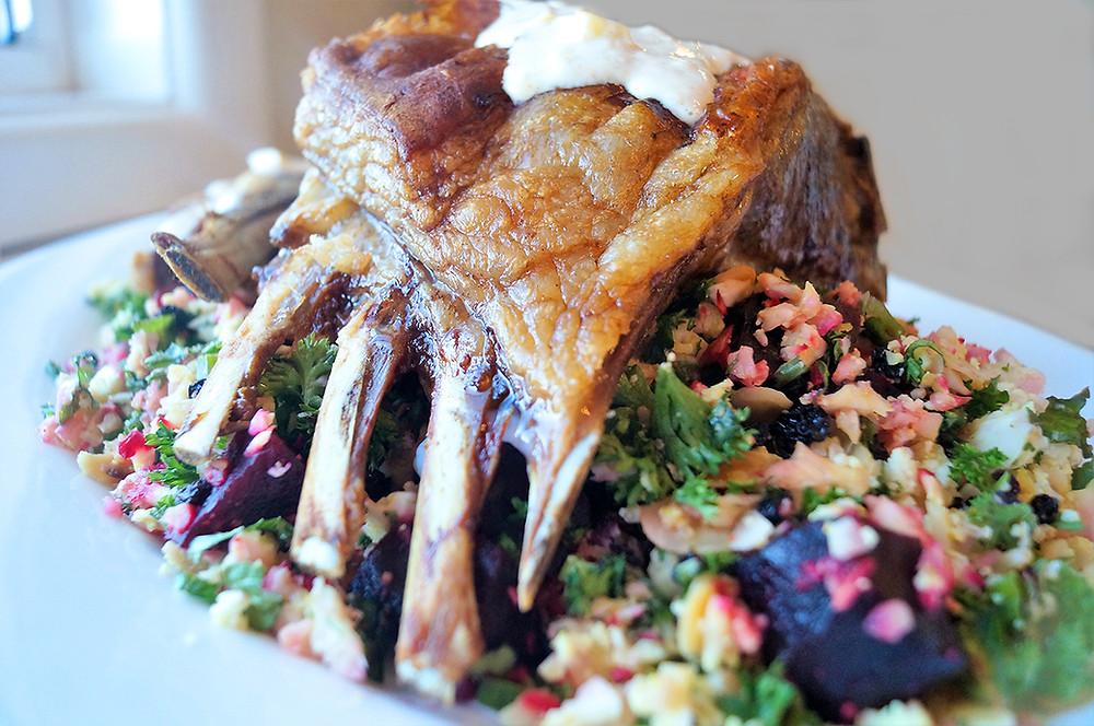 Outback Lamb recipe rack of lamb