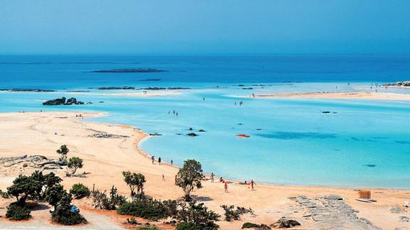 Elafonissi Beach near Paleochora