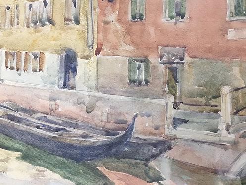 """""""Veneza"""", R. Nobili  - watercolor"""