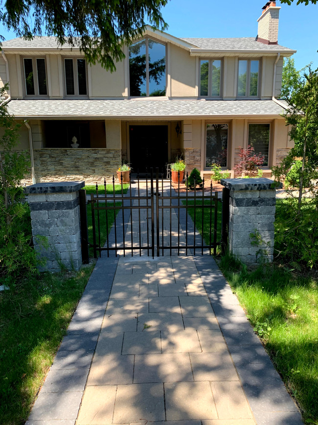 Double Arched Iron Gate