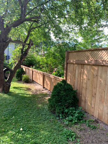 Two-level Fence