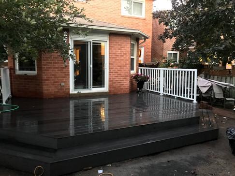 Refaced Deck
