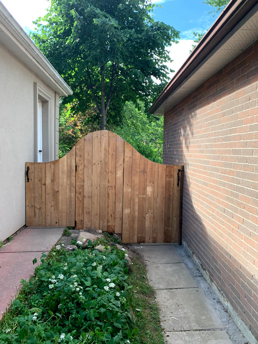Double Arched Gate