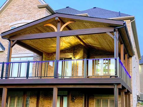 Outdoor Deck Roof