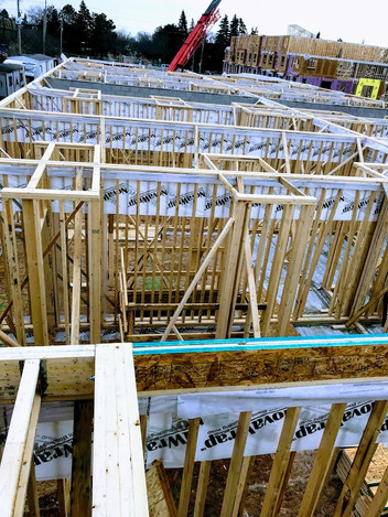 Townhome Framing