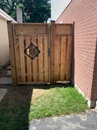 Custom-built Gate