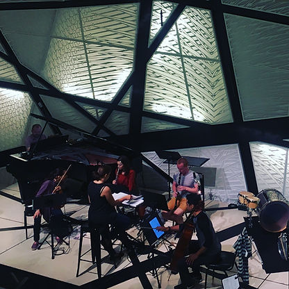 Refugee Orchestra Project, dress rehears