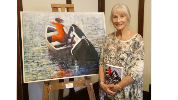 Christine Eyres book launch