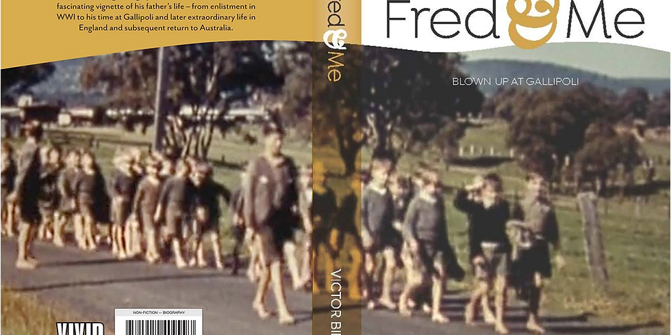 Postponed - Perth Launch of 'Fred & Me', by Victor Bibby