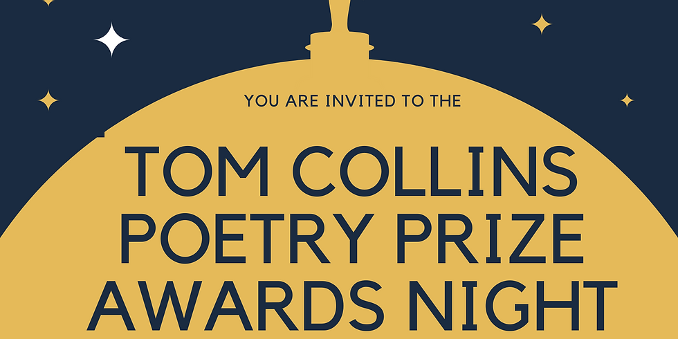 Tom Collins Poetry Prize Winners Announcement