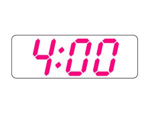 productief om 4:00 uur
