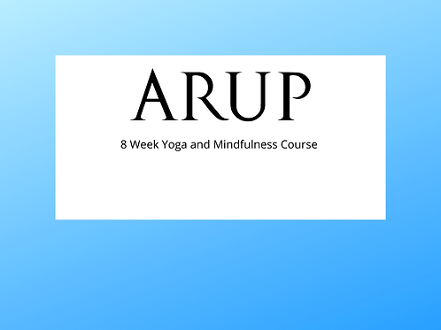 8 Week Yoga and Mindfulness Course