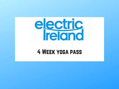 4 Week Yoga Pass