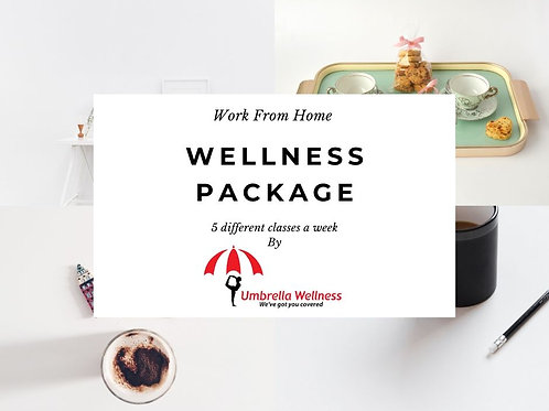 Work From Home Wellness Package