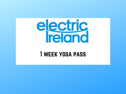 1 Week Yoga Pass
