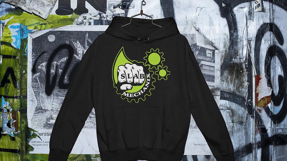 Black Slab Mechanix Hoodie