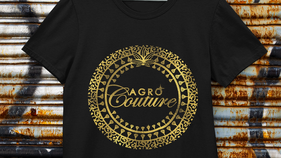 Black Agro Couture T-Shirt
