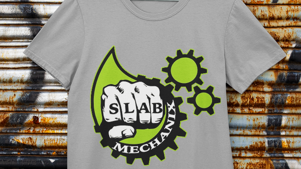 Grey Slab Mechanix T-Shirt