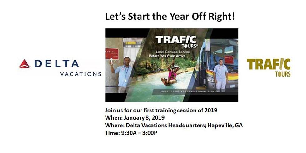 Delta Vacations January Training Event