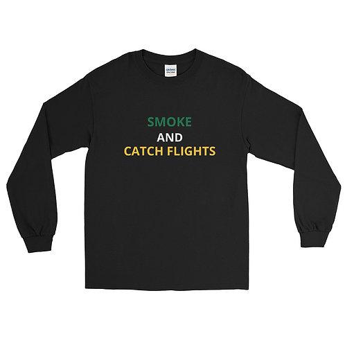 Smoke and Catch Flights Men's Long Sleeve Shirt