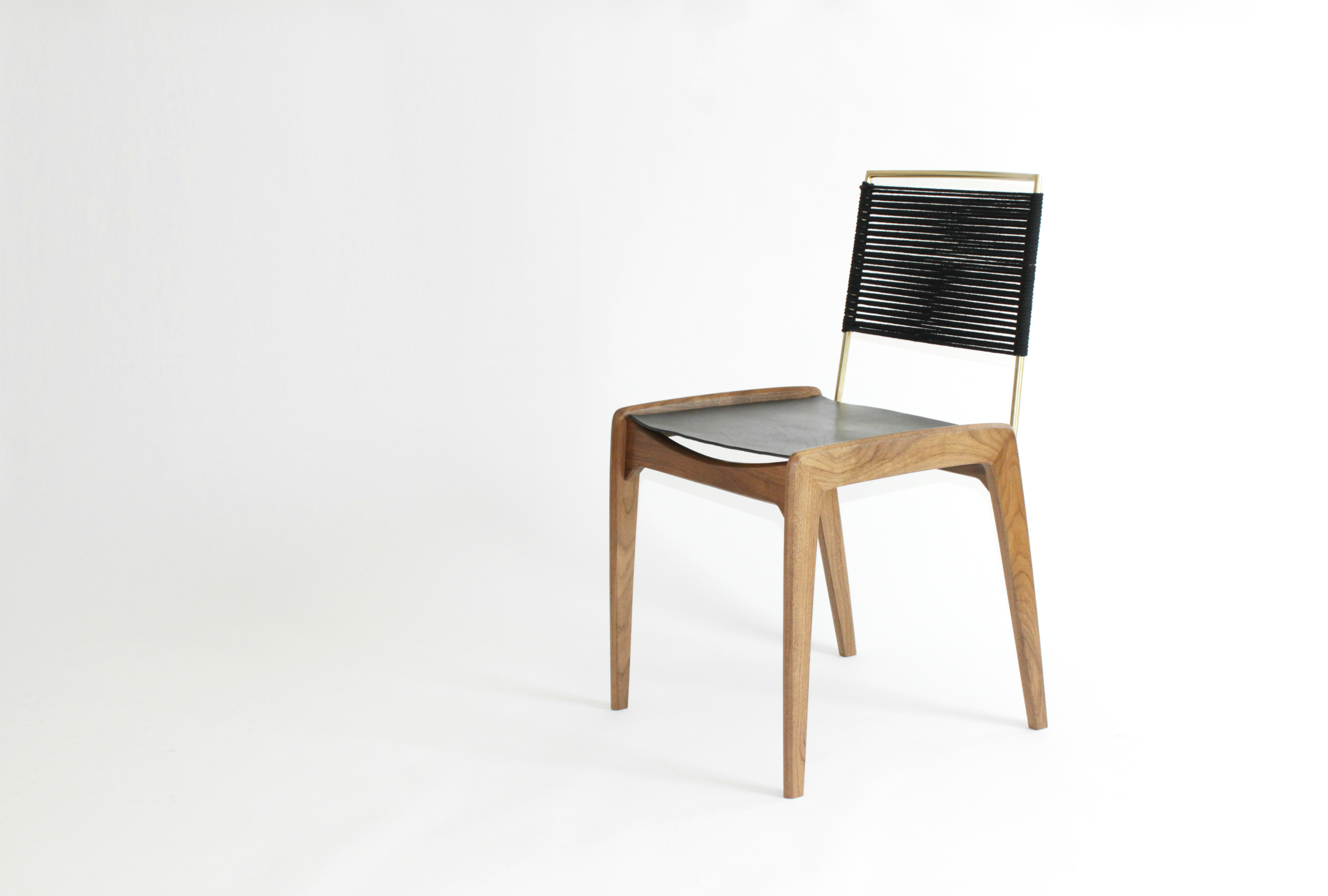 LD3 Dining Chair in Black Finish