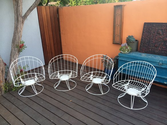 Homecrest Barrel Chairs