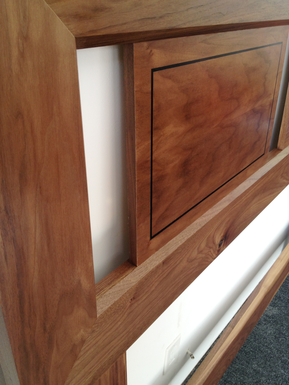 Walnut Headboard