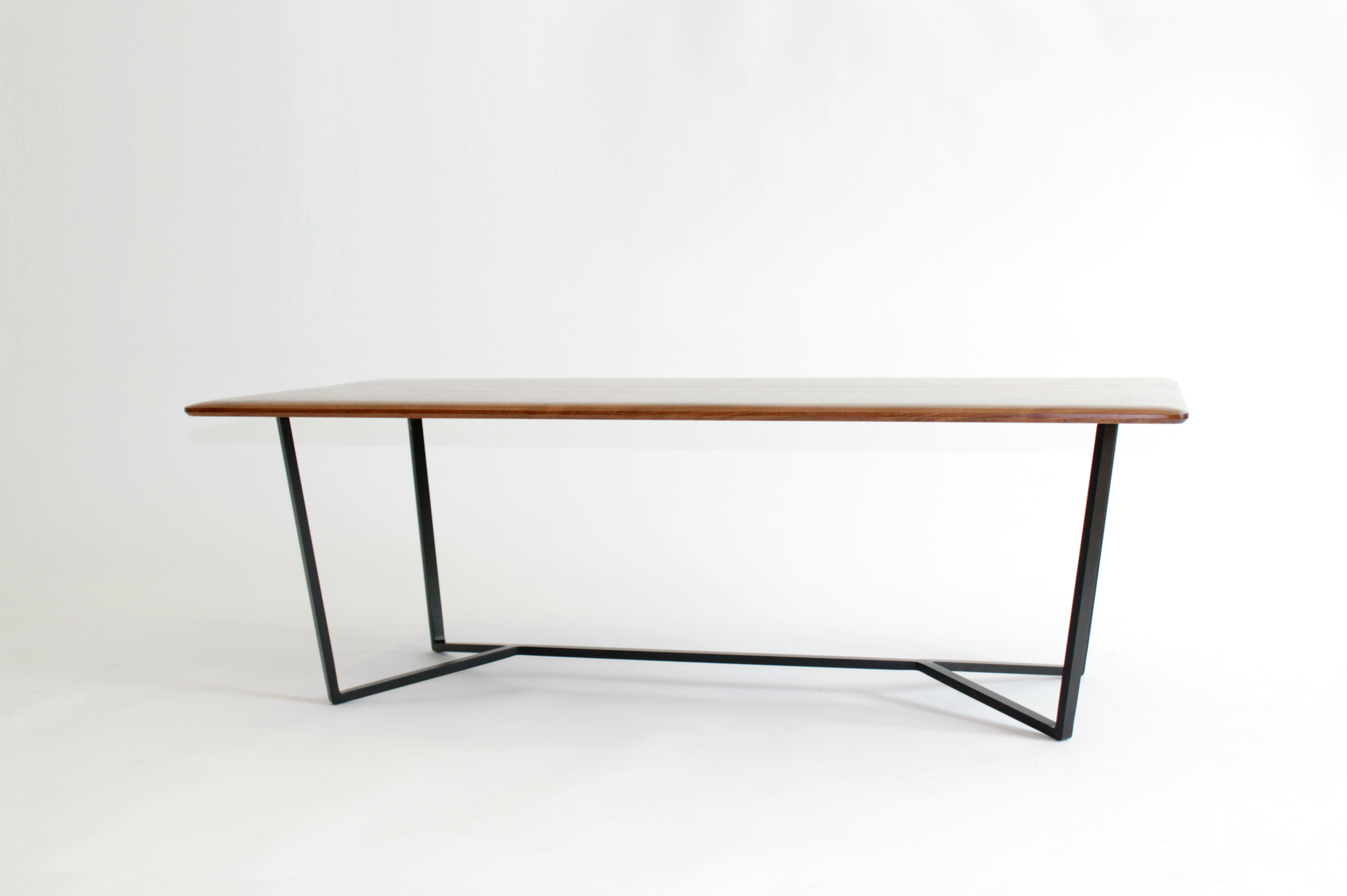 LC1 Walnut Coffee Table