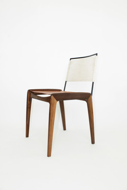 LD3 Dining Chair in Natural Finish