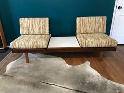 Brown Saltman Modular Sofa