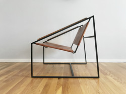 Fluxco Design LZ Lounge Chair Brown