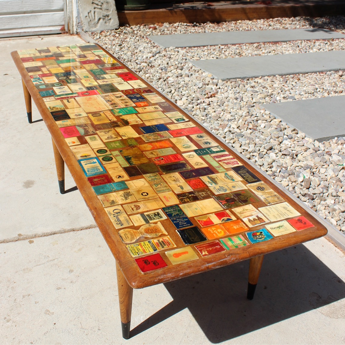 Lane Matchbook Coffee Table