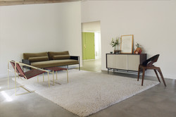 Modern Living Space by Fluxco Design