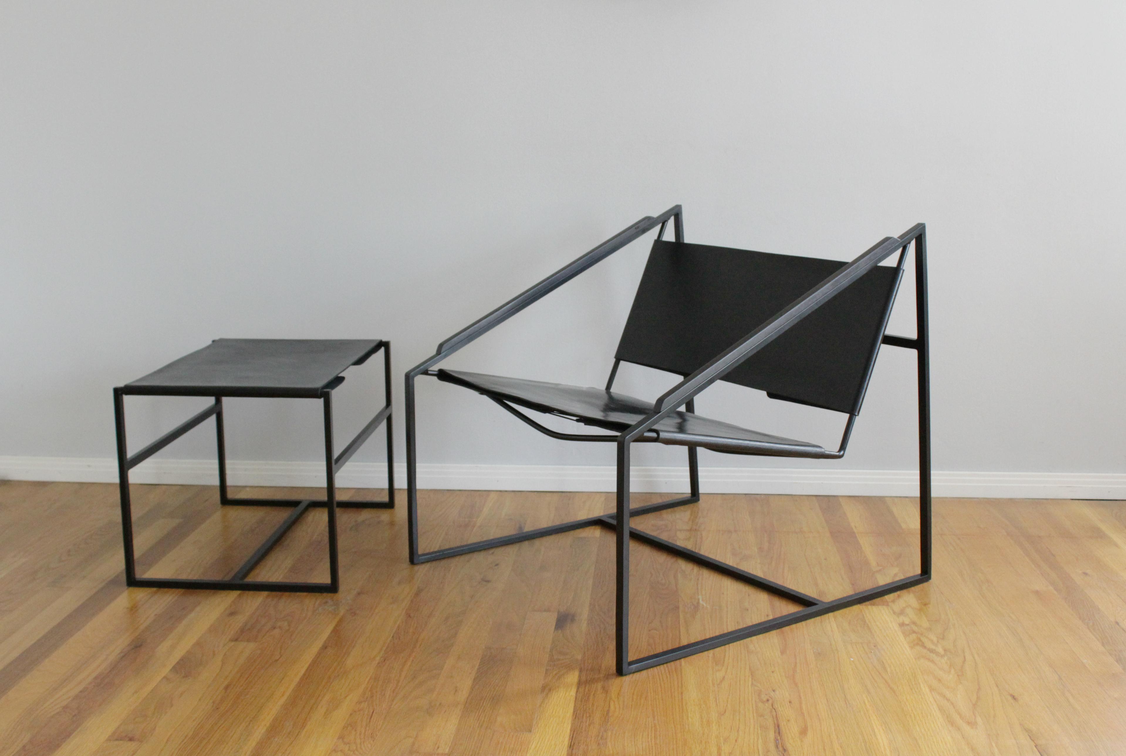 Fluxco Design LZ Lounge Chair Black