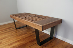 George Nelson Inspired Bench