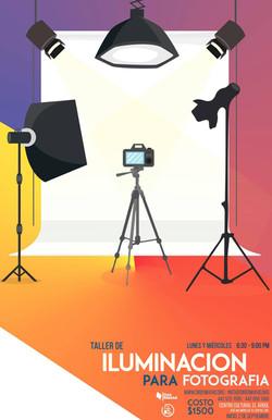 Taller Iluminación para Fotografía.