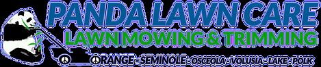 PANDA LAWN MOWING & TRIMMING LOGO UPDATE