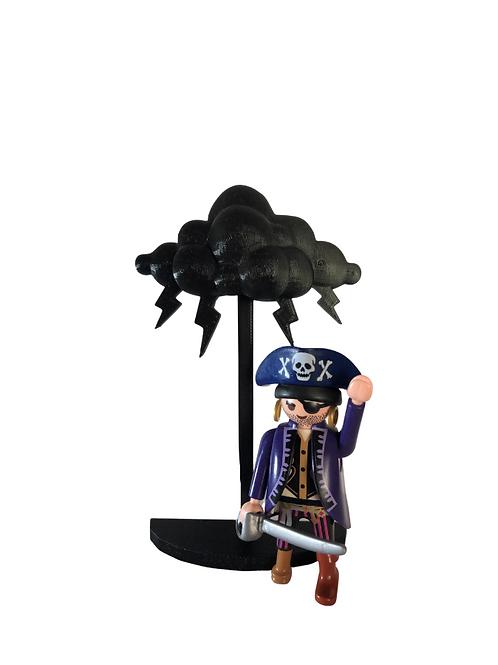 Lightning Storm Cloud (Black)
