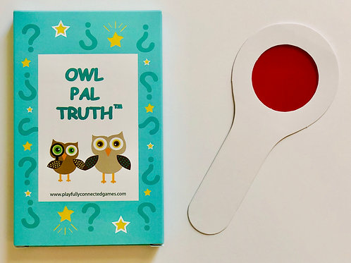 Owl Pal Truth (therapeutic kid's game for abuse/trauma)