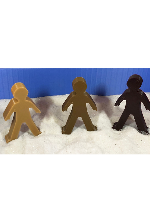 Multicultural People (Set of 3)