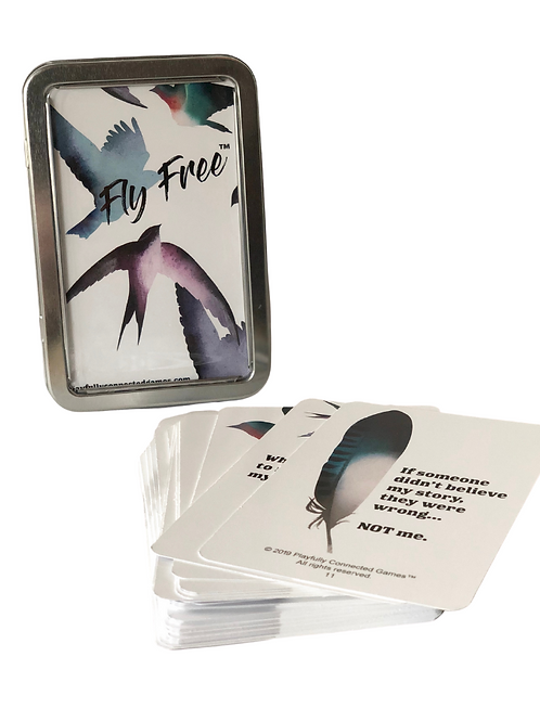 Fly Free (abuse/trauma for teens/adults)
