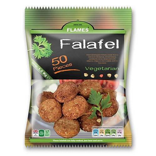 Falafel (100 pieces - x2 50piece bags)