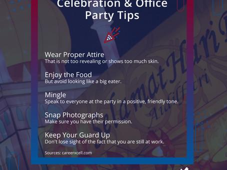 Festive Celebration & Office Party Tips