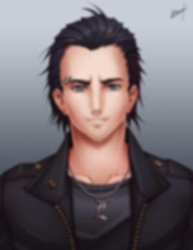 Portrait commissioned by Karosu_Maker