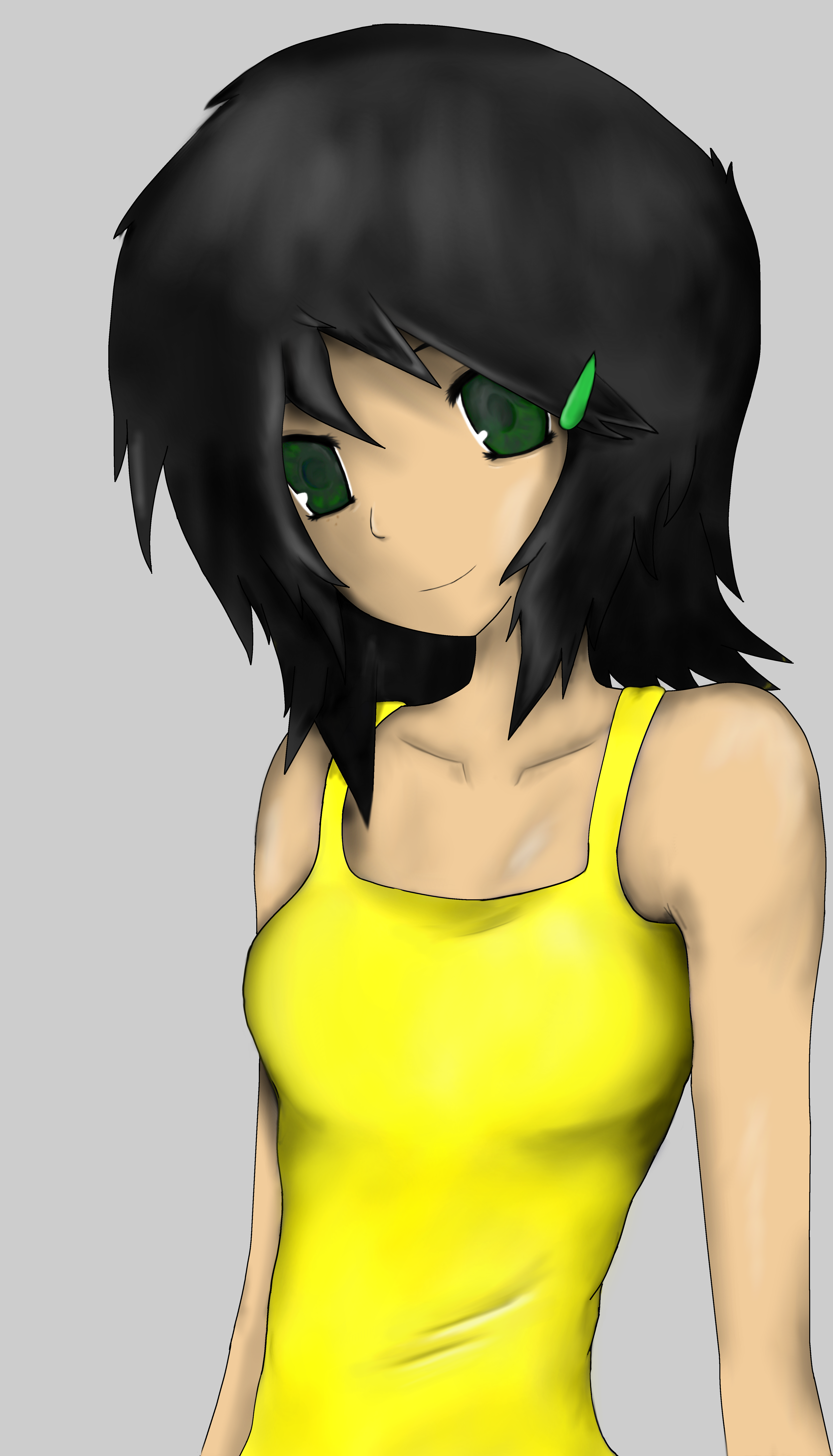 tansu portrait  yellow