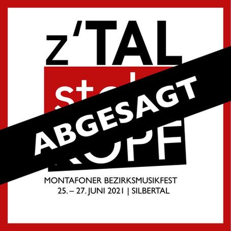 Montafoner Bezirksmusikfest im Silbertal 2021 ABGESAGT