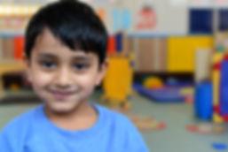 Happy child at Trinity Day Care Nursery