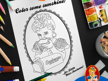 Color Some Sunshine for Little Miss Sunbeam!