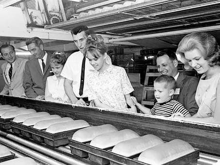 A Field Trip to the Sunbeam Bread Bakery was Always the Highlight of the School Year!