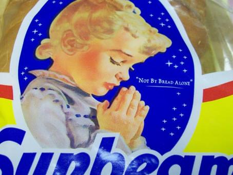 Little Miss Sunbeam Bows Her Head in Prayer